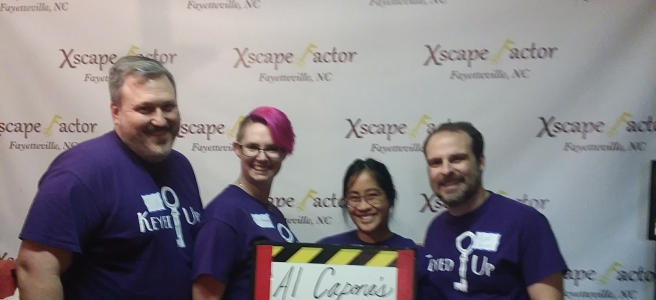 Xscape Factor Al Capones Revenge Review Escape Room Adventurer
